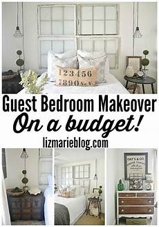 Spare Bedroom Ideas On A Budget by Guest Bedroom Makeover On A Budget See How Thrifted Finds