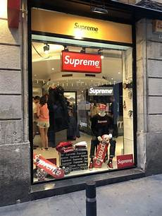 supreme shop there s a supreme store in barcelona scoopnest