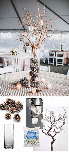 simple wedding centerpiece for winter weddings all of these products are from afloral com