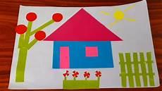 Cara Membuat Origami Rumah Untuk Anak Paud Tema