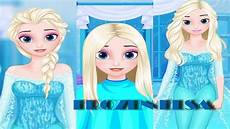 frozen princess elsa games frozen hairstyle design gameplay makeover games youtube