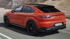 new porsche cayenne coupe 2020 driving sound exterior