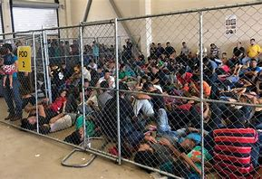 Image result for migrant children in cages