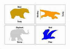 animal boogie worksheets 13809 animal boogie movement cards with printable