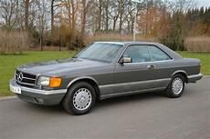 mercedes sec 560 for sale mercedes 560 sec 1987 offered for gbp 17 554