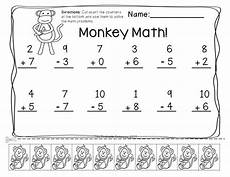 subtraction practice worksheets for kindergarten 10526 pin on tpt math lessons