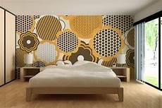 papier peint panoramique design papier peint graphique tournesol izoa