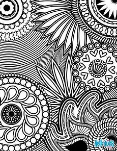 paisley hearts and flowers anti stress coloring design coloring pages hellokids com