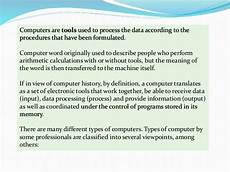 meeting 1 types of computers ppt