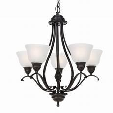 progress lighting 5 light textured black chandelier p4008 31 the home depot