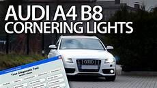 how to enable cornering lights in audi a4 b8 2008 2015