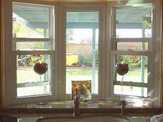 Kitchen Curtains For Bay Windows by The Look Of A Garden Window For Above The Sink In