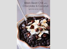 chocolate and chipotle black bean chilli_image