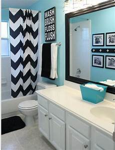 love this for kids bathroom love the color on the walls