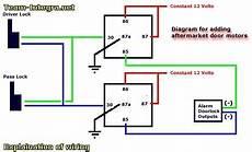 Wire Diagram Power Door Lock by Door Diagram 169 Don Vandervort Hometips Panel Door