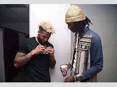 Young Thug Hangs With Odell Beckham Jr. Wearing a Kaoz