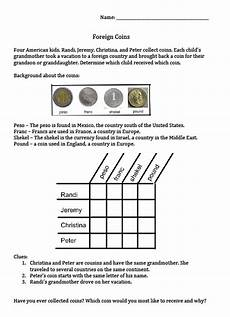 logic puzzle worksheets for 5th grade 10860 the best of entrepreneurs iii money puzzle package