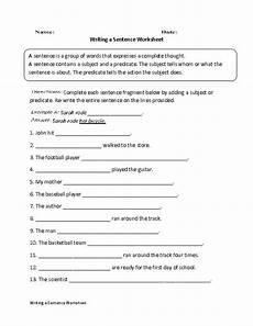 writing sentences worksheets for grade 5 22963 writing a sentence worksheet writing worksheets fourth grade writing writing