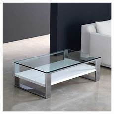 table basse verre rectangulaire soleo table basse rectangulaire kendo plateau verre