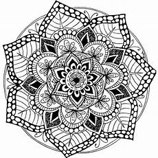 mandala coloring pages free 17945 a free printable mandala coloring page 60 more available on mondaymandala omalov 225 nky
