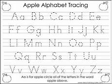 montessori letter tracing worksheets 23916 2 task worksheets apple trace the alphabet and numbers 1 20 preschool kdg