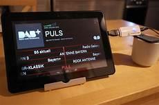 das android handy als dab radio social media tool box