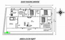house plans vastu east facing east facing house plan as per vastu shastra cadbull