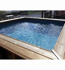 piscine hors sol maeva 300 en bois carr 233 e finition haute