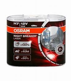 osram h7 12v 55w 64210 nbl breaker laser pack