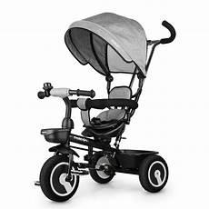 fascol 3 en 1 tricycle pour enfants gris fascol