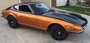 Black And Sunset Burnt Orange 1972 Datsun 240Z