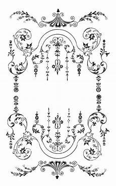 frame jugendstil ornamente jugendstil und