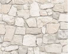 stein tapeten tapete 3d bruchsteinmauer creme 6924 29