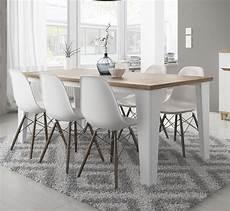 table de salle a manger but table de salle 224 manger contemporaine ch 234 ne blanc vein 233