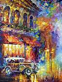 Art For Home Decor Colorful Oil Painting On Canvas By