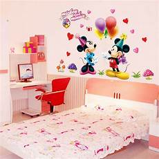 mickey minnie mouse disney gift room wall