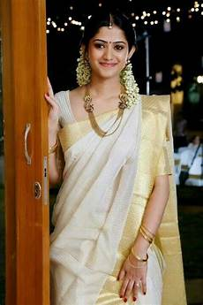 kerala bride in simple traditional a beautiful bride in kerala saree simple elegance