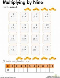 multiplication worksheets up to 9 4629 multiplying by nine worksheet education