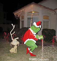 Outdoor Decorations Grinch by Sweet Sugar Blossoms Capturingdecember Day 16