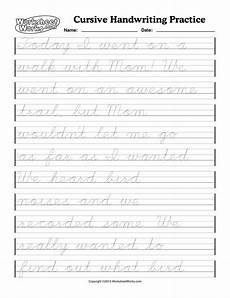 cursive handwriting worksheets for 4th graders 22020 learn to write in cursive practice papers term paper