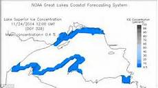 ice already formed on three of michigan s great lakes a month early daily mail online