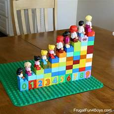 hands on math games with lego duplo frugal fun for boys engaging hands on duplo math games that kids will love