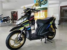 Suzuki Nex 2 Modifikasi by Makin Gagah Modifikasi Suzuki Nex Fi Oleh Sinar Galesong