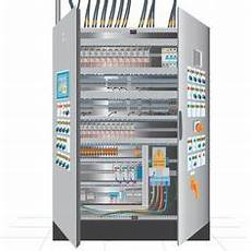 Plc Cabinet With Siemens Plc Simatic S7 400