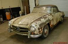 mercedes ali di gabbiano d epoca prezzo vendo 1962 mercedes 190 sl barn find project