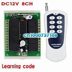 Bakeey 433mhz 315mhz Wireless Switch by Dc 12v 8 Ch Channel Rf Wireless Remote Switch