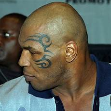mike tyson face tattoo