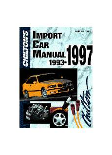 what is the best auto repair manual 1993 nissan quest seat position control 1993 1997 chilton s import auto repair manual