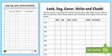spelling practice worksheets look cover write check 22456 look say cover write and check blank template worksheet