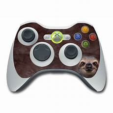 flower card templates xbox xbox 360 controller skin sloth by the mountain decalgirl